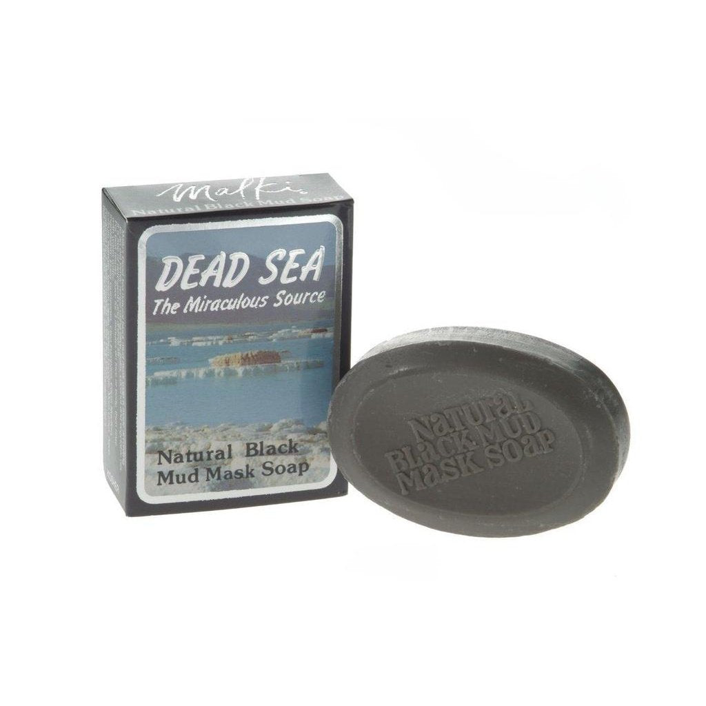 Malki - Dead Sea Black mud mask soap - 90g