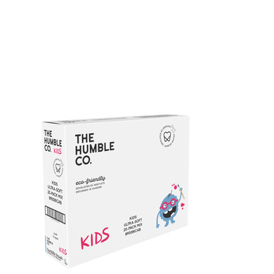 The Humble Co Kids Ultrasoft Toothbrush - Mixed colours