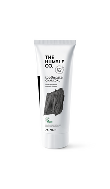 The Humble Co Natural Toothpaste 75ml - Charcoal