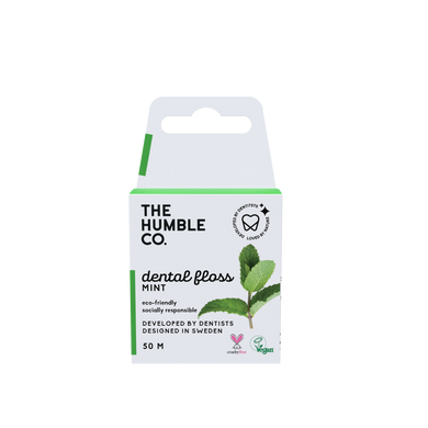 The Humble Co Dental Floss Fresh Mint 50m