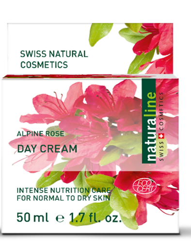 Naturaline Day Cream Normal Alpine Rose 50ml