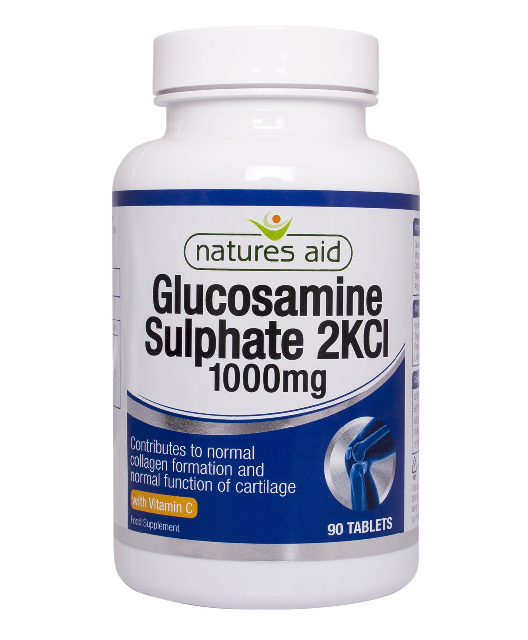 Natures Aid Glucosamine Sulphate 1000mg (with Vitamin C)   90 tabs