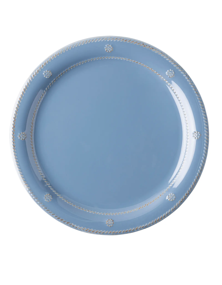 Chambray Melamine Dinner Plate
