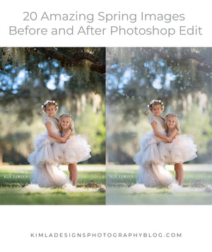 20 Amazing Spring Images Before and After Photoshop Edit
