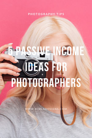 Person - 5 Passive Income Ideas for Photographers