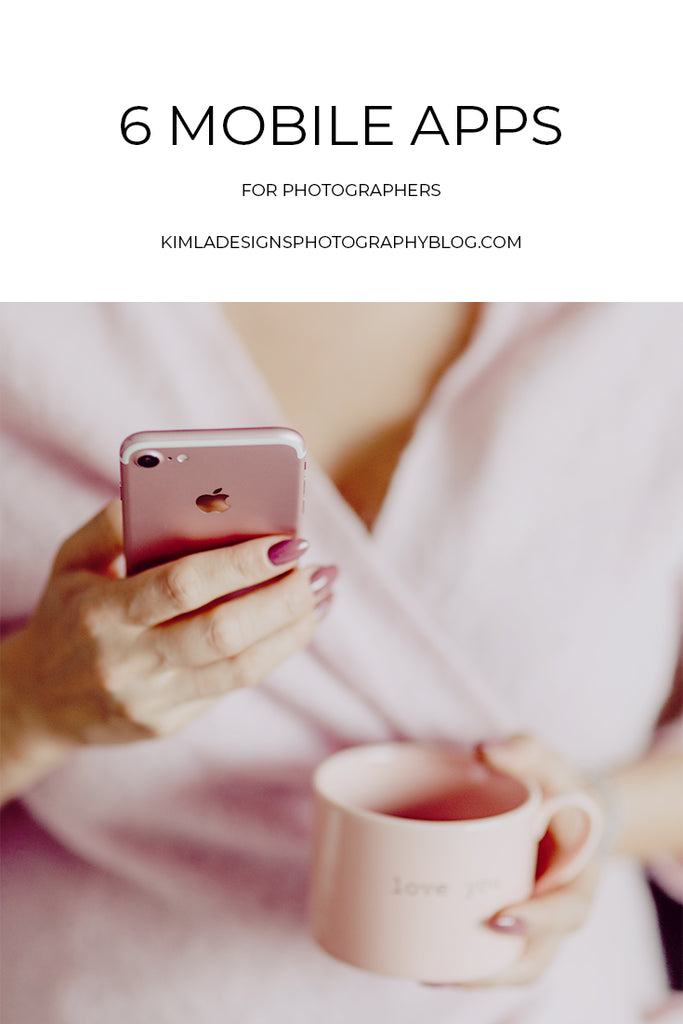 6 Mobile Apps for Photographers