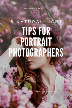Plant - 6 Natural Light Tips for Portrait Photographers