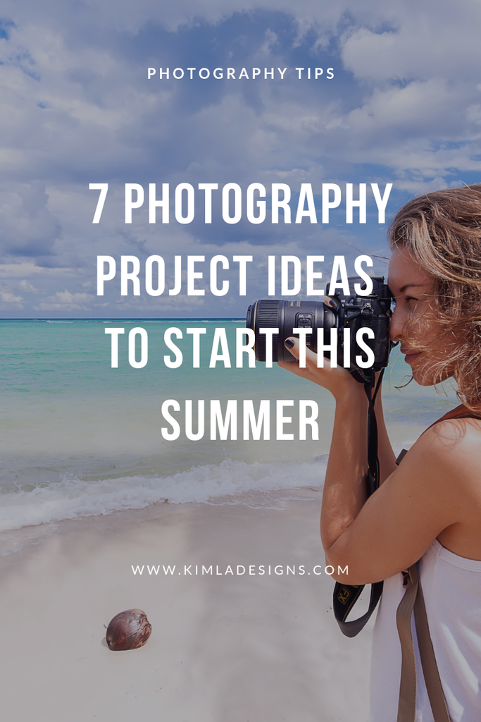 Human - 7 Photography Project Ideas to Start this Summer