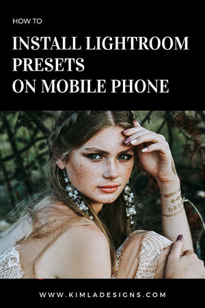 How to Install Adobe Lightroom Presets on Mobile Phone