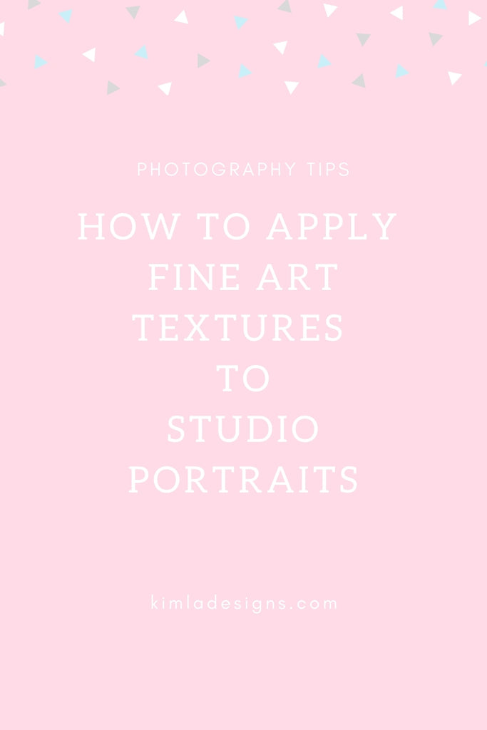 How to Apply Fine Art Textures to Your Studio Portraits