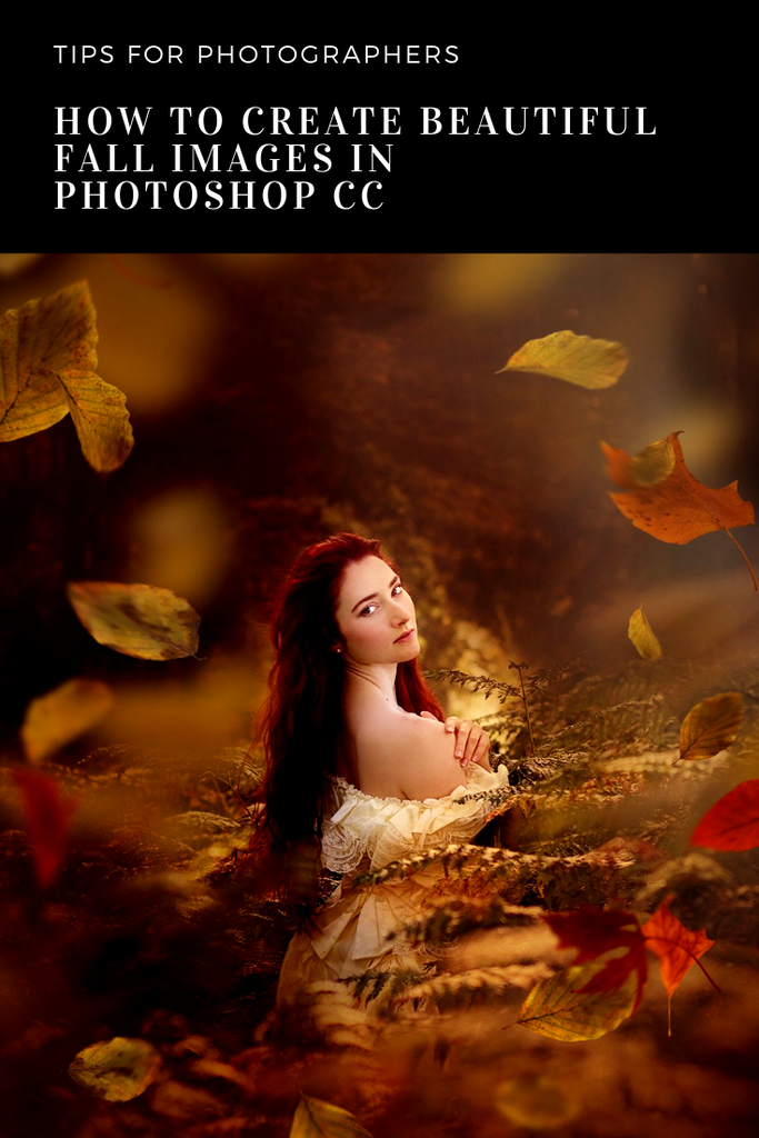 How to Create Beautiful Fall Images in Photoshop CC + Freebie
