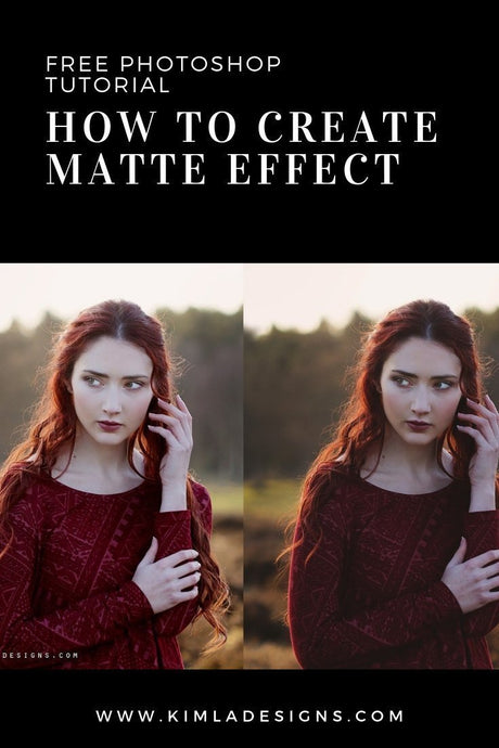 How to Create Matte Effect in Photoshop