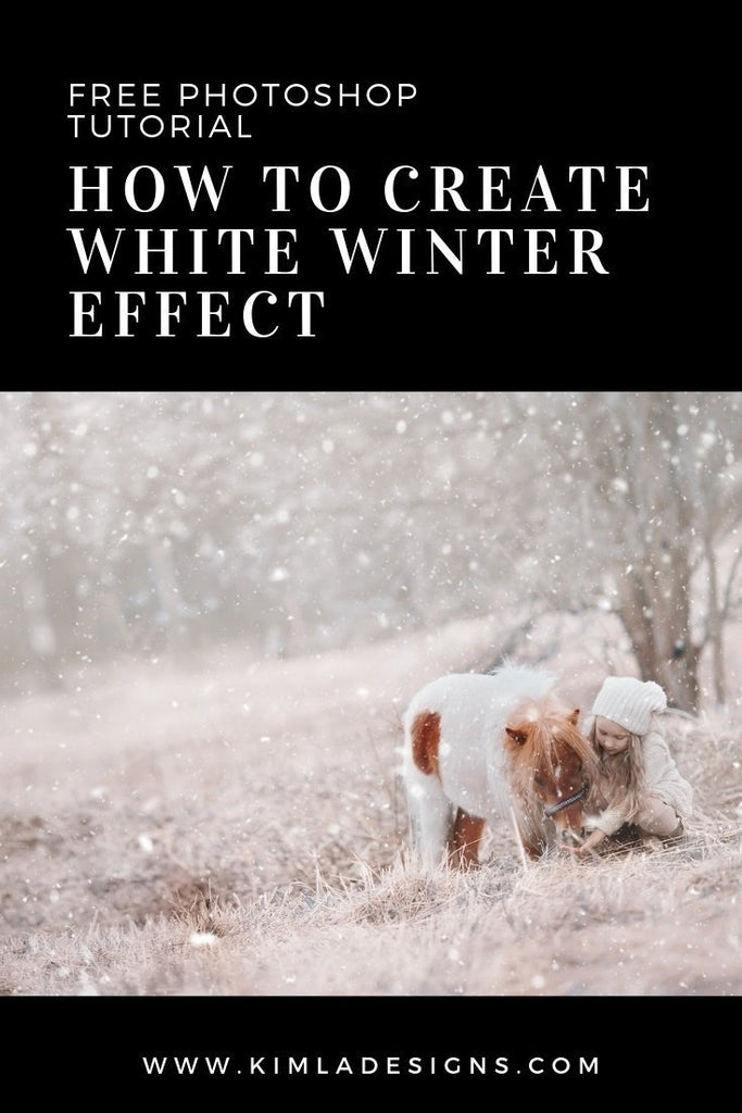 Outdoors - How to Create White Winter Effect
