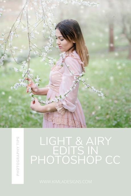 Light & Airy Edits in Photoshop