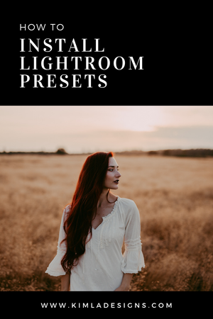 How to install Presets in Lightroom Classic and ACR