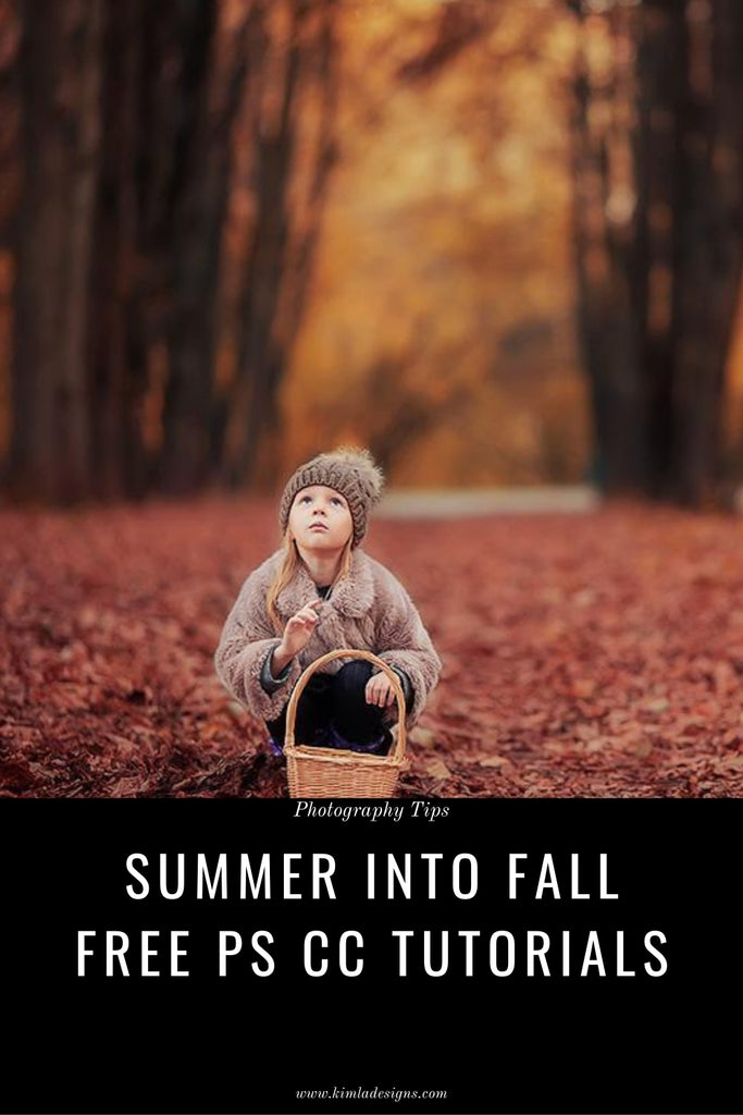 How to turn your Summer pictures into beautiful, painted Autumn scene in seconds.