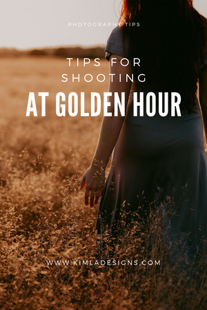 Person - Tips for Shooting at Golden Hour