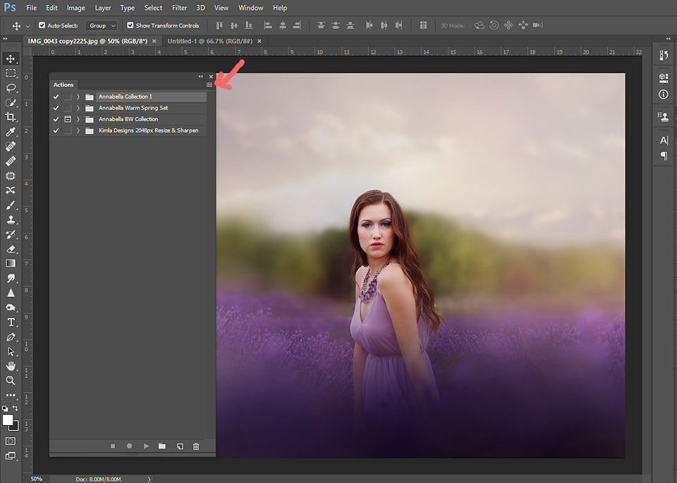 Human - How to Install Photoshop Actions