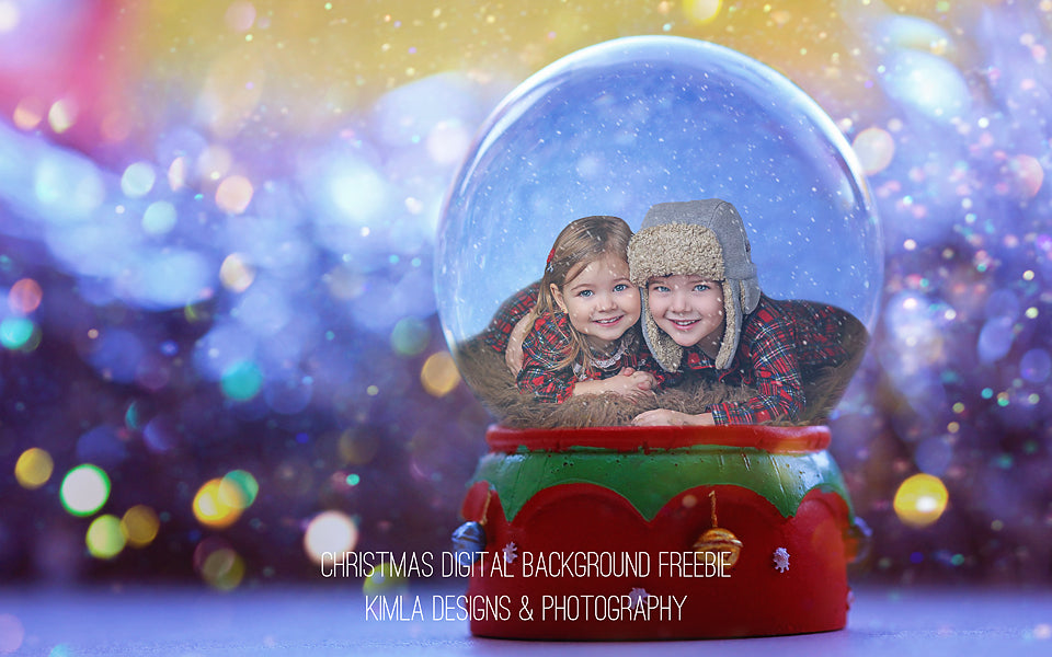 Christmas Digital Background Freebie