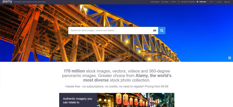 Advertisement - Top 7 Stock Photography Sites to Sell Your Photos