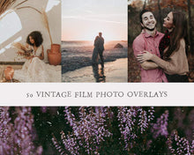 Load image into Gallery viewer, Vintage Film Texture Overlays