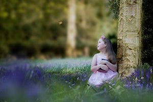 Bluebells Photo Overlays + Free Gift - Photoshop Overlays, Digital Backgrounds and Lightroom Presets