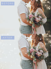 Load image into Gallery viewer, White Wedding Light Photoshop Overlays - Photoshop Overlays, Digital Backgrounds and Lightroom Presets