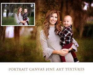 Canvas Fine Art Portrait Textures
