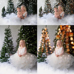 Load image into Gallery viewer, Christmas Tree Lights Bokeh Overlays - Photoshop Overlays, Digital Backgrounds and Lightroom Presets