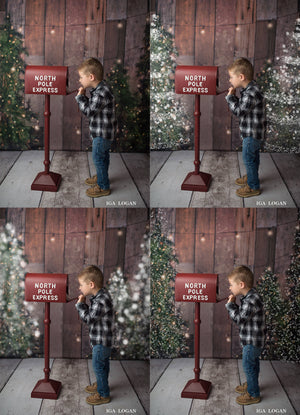 Christmas Tree Snow Overlays - Kimla Designs  Quality Editing Tools for Creative Photographers, Photoshop Overlays, Textures, Photoshop Actions and Templates.