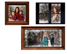 Load image into Gallery viewer, Christmas Window Frame Photo Overlays + Free Gift