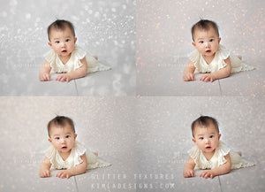 Glitter Textures for Photographers - Photoshop Overlays, Digital Backgrounds and Lightroom Presets