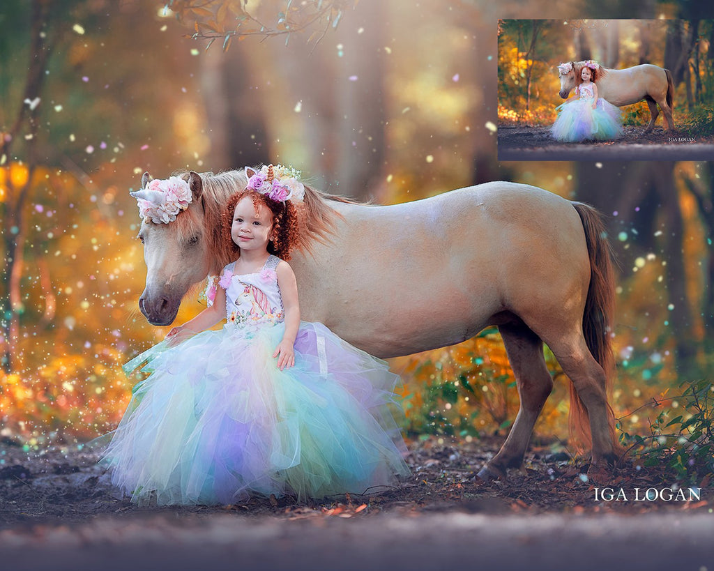 Glow & Sparkle Photo Overlays - Photoshop Overlays, Digital Backgrounds and Lightroom Presets