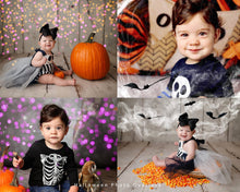 Load image into Gallery viewer, Halloween Photo Overlays - Photoshop Overlays, Digital Backgrounds and Lightroom Presets