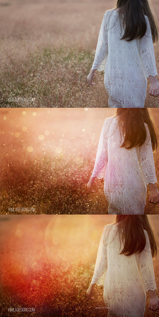Golden Summer Photo Overlays