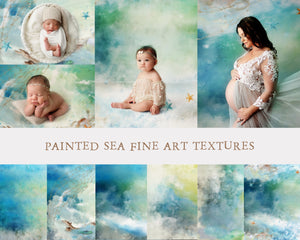 Painted Sea Fine Art Textures