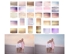 Load image into Gallery viewer, Pastel Sea Color & Tone Photo Overlays - Photoshop Overlays, Digital Backgrounds and Lightroom Presets
