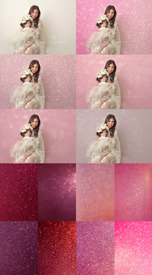 Valentines Pink Glitter Textures - Kimla Designs  Quality Editing Tools for Creative Photographers, Photoshop Overlays, Textures, Photoshop Actions and Templates.