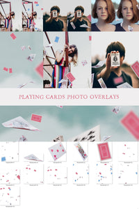 Playing Cards Photo Overlays