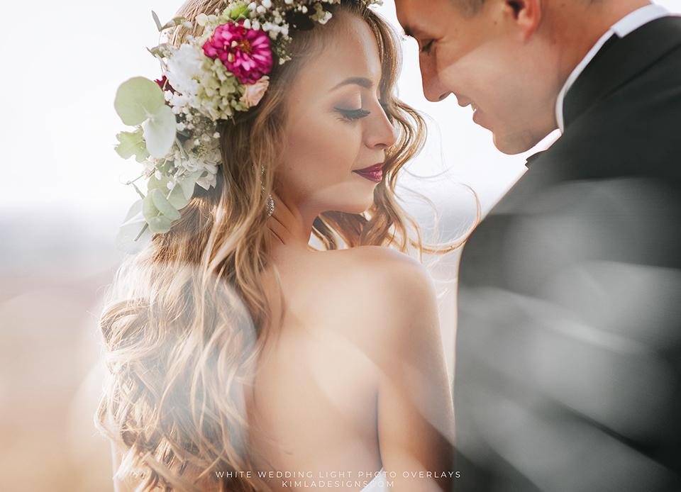 White Wedding Light Photoshop Overlays