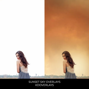 Sunset Sky Photo Overlays - Kimla Designs  Quality Editing Tools for Creative Photographers, Photoshop Overlays, Textures, Photoshop Actions and Templates.