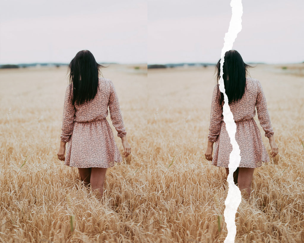 Torn Paper Photo Overlays - Photoshop Overlays, Digital Backgrounds and Lightroom Presets