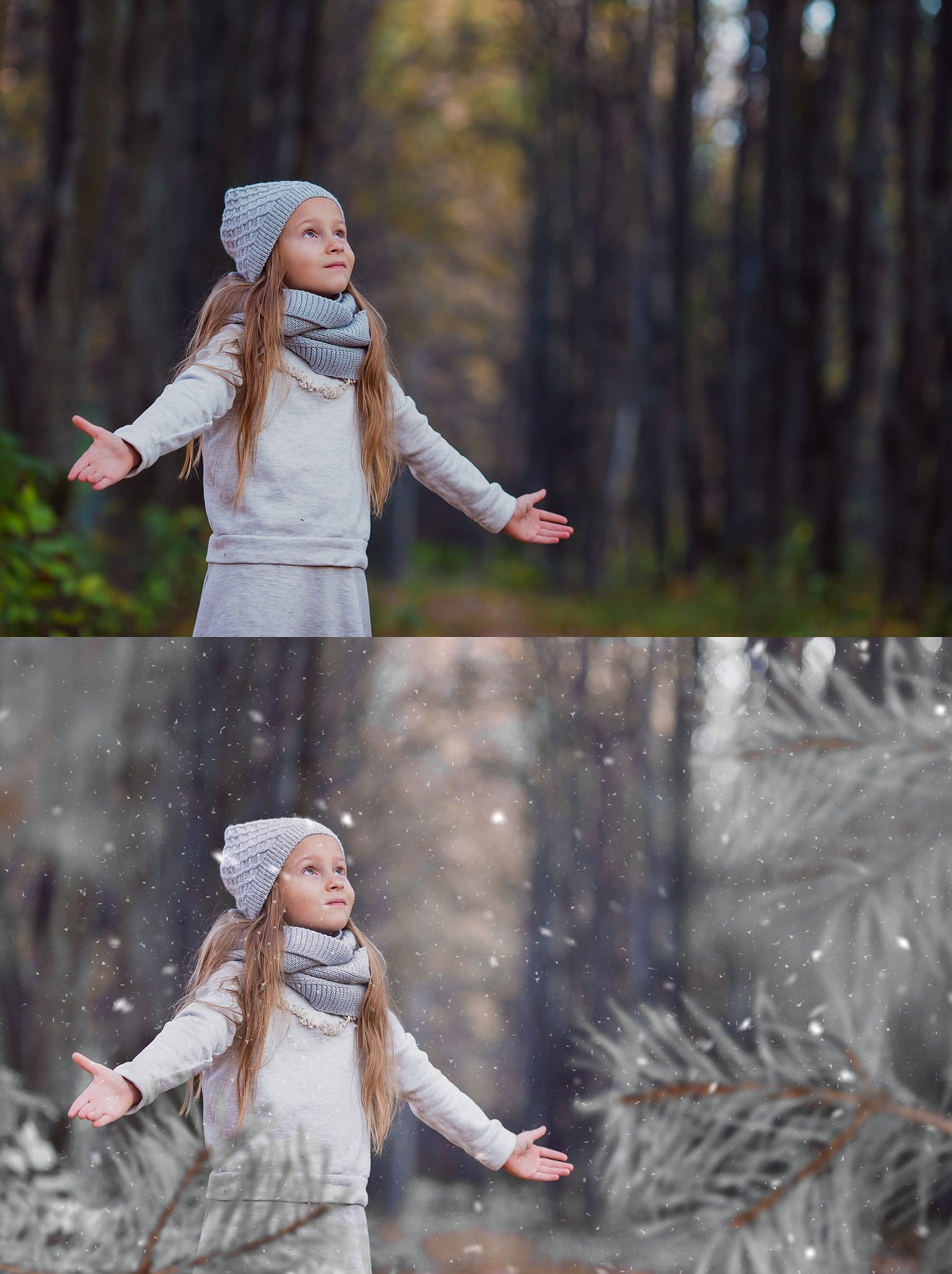 White Winter Overlays and Brushes + 2 Free Gifts