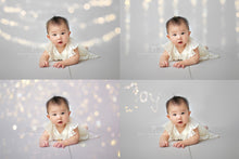 Load image into Gallery viewer, Christmas Lights Bokeh Overlays - Photoshop Overlays, Digital Backgrounds and Lightroom Presets