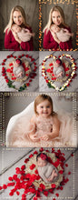 Load image into Gallery viewer, Valentine's Day Bokeh Frame Overlays - Photoshop Overlays, Digital Backgrounds and Lightroom Presets