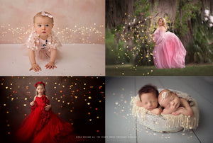 All the Hearts Bokeh Photoshop Overlays - Photoshop Overlays, Digital Backgrounds and Lightroom Presets