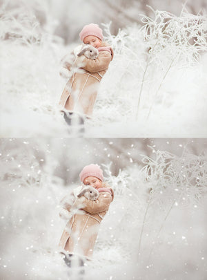White Winter Overlays and Brushes + 2 Free Gifts - Kimla Designs  Quality Editing Tools for Creative Photographers, Photoshop Overlays, Textures, Photoshop Actions and Templates.