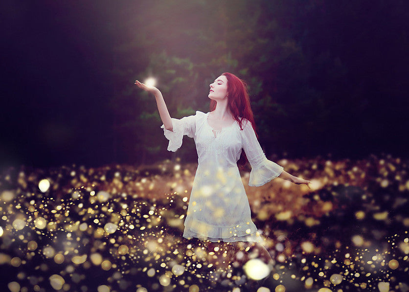 Fireflies Photo Overlays - Photoshop Overlays, Digital Backgrounds and Lightroom Presets