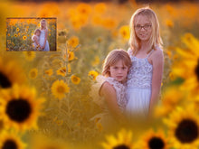 Load image into Gallery viewer, Painted Sunflowers Photo Overlays