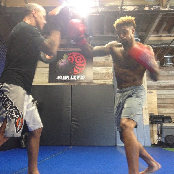 Odell Beckham Jr. Off Season Boxing Training Shirtless